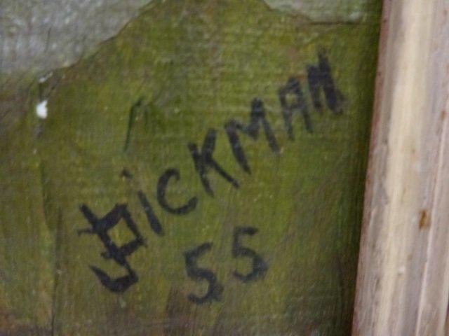 J. Bickman - WPA - Lumberjack in Forest - 3