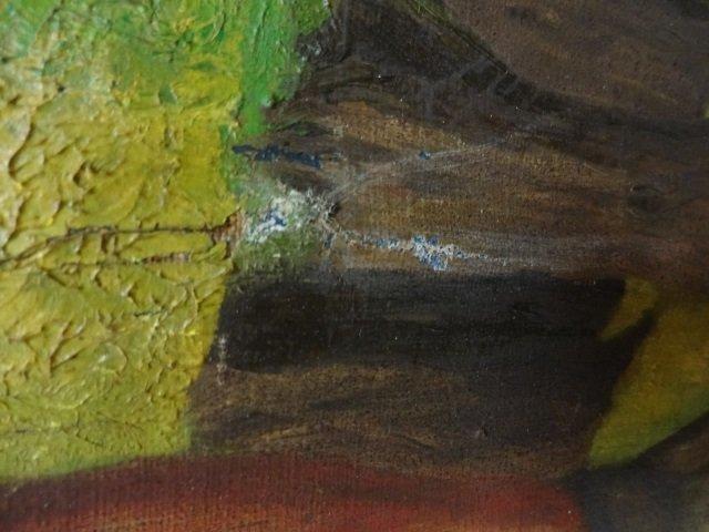 J. Bickman - WPA - Lumberjack in Forest - 5