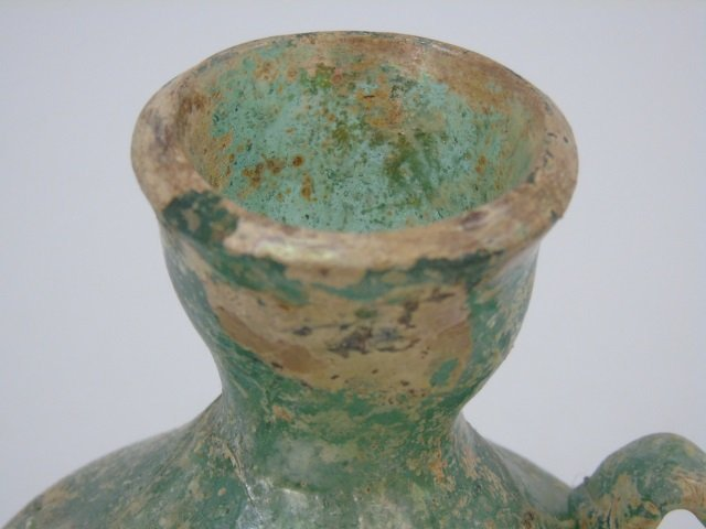 Murano & Greek Blown Art Glass Vases - 3