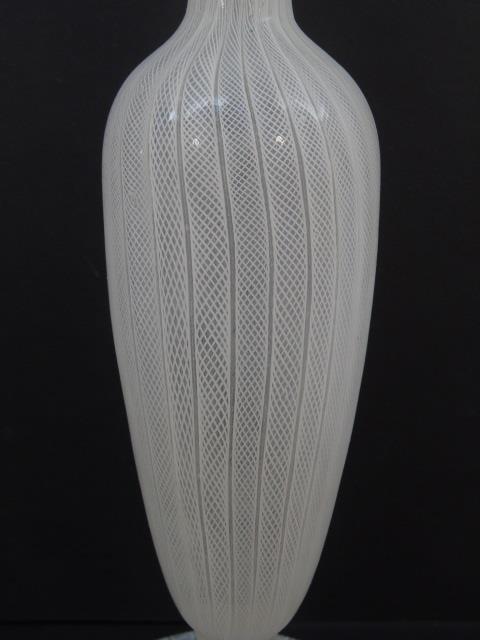 Murano & Greek Blown Art Glass Vases - 7