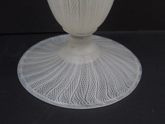 Murano & Greek Blown Art Glass Vases - 8