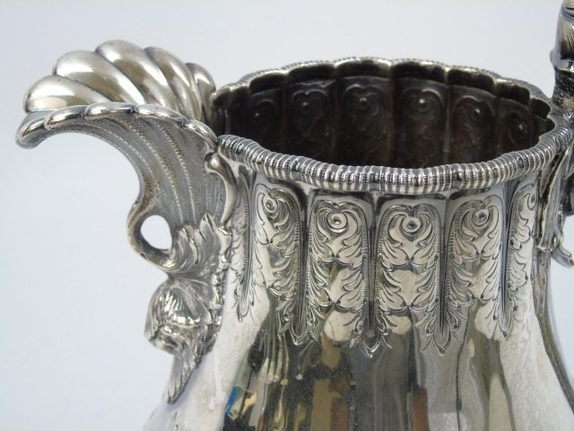 Antique Tiffany & Co Sterling Silver Water Pitcher - 2