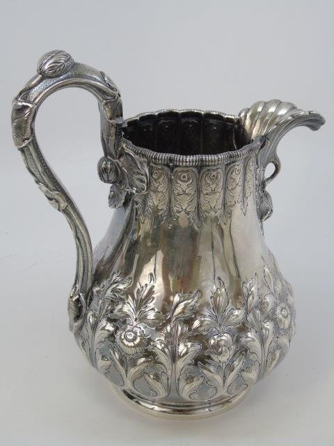 Antique Tiffany & Co Sterling Silver Water Pitcher - 5