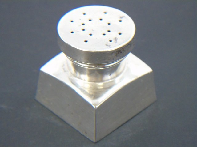 Set of Eight Sterling Silver Salt & Pepper Shakers - 2