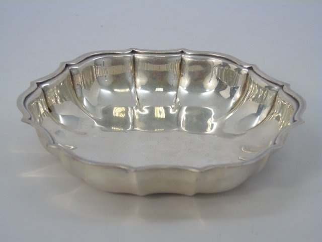 Three Antique Silver Plate Serving Items - 6