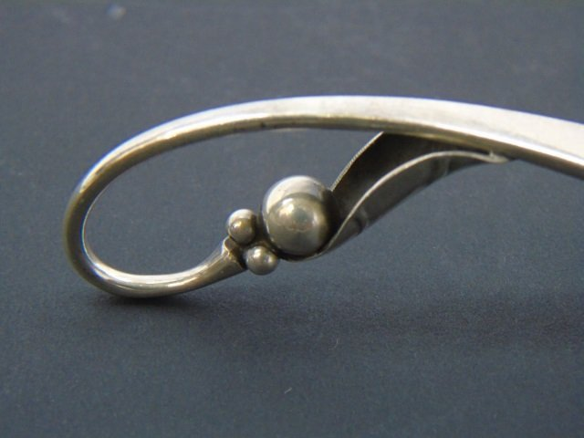 Georg Jensen Sterling Silver Spoon Baccarat Spoon - 3