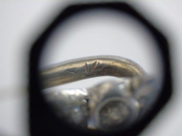 Antique Estate Gold & Diamond Owl Stick Pin - 4