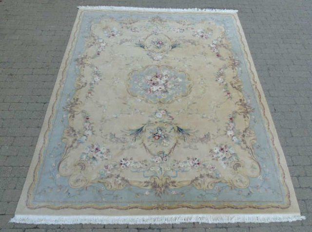 Quality Contemporary Aubusson Hand Knotted Carpet - 2