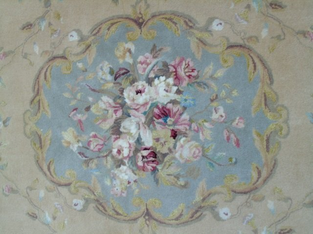 Quality Contemporary Aubusson Hand Knotted Carpet - 3