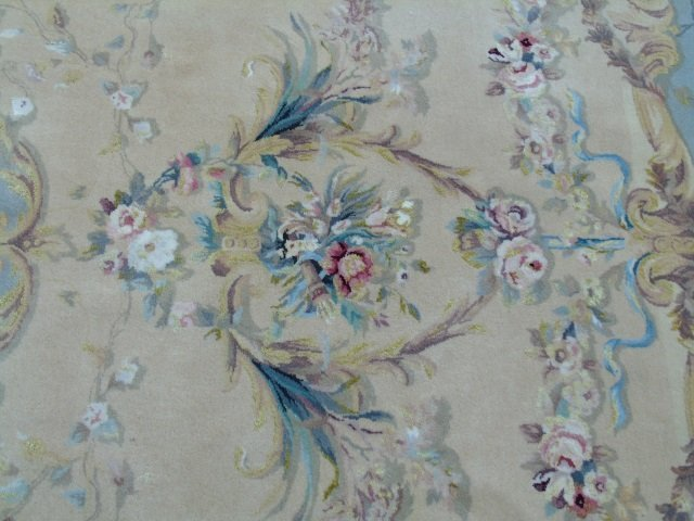 Quality Contemporary Aubusson Hand Knotted Carpet - 4