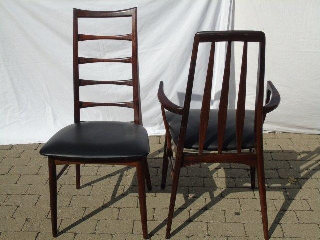 Mid Century Modern Niels Koefoed Dining Chairs - 2