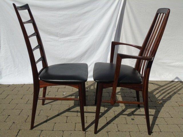 Mid Century Modern Niels Koefoed Dining Chairs - 3