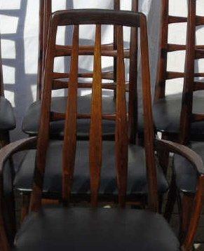 Mid Century Modern Niels Koefoed Dining Chairs - 5