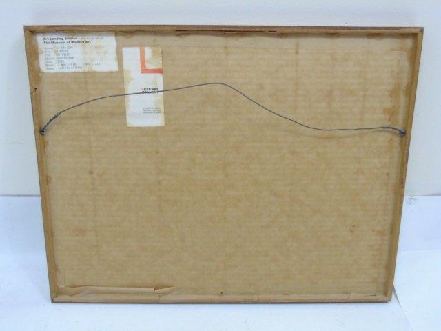 Yasse Tabuchi Pencil Signed Framed Watercolor - 6