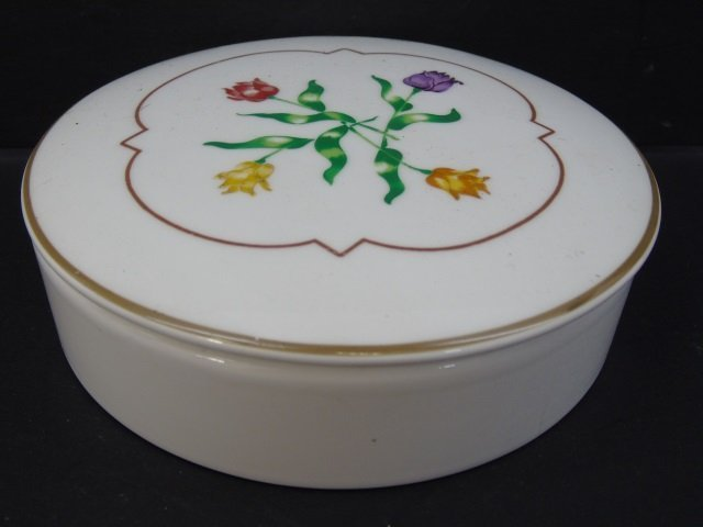 Group of 4 Vintage Porcelain Miniature Boxes - 2