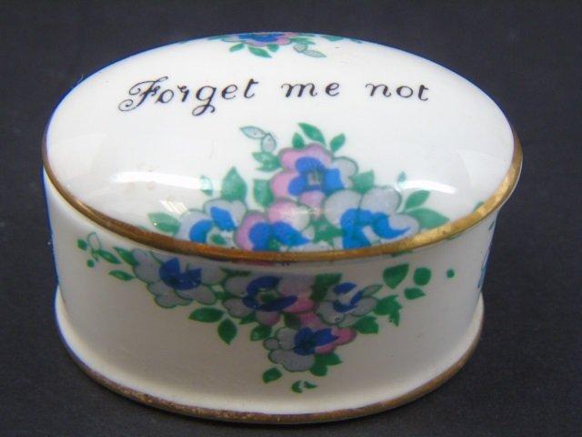 Group of 4 Vintage Porcelain Miniature Boxes - 4