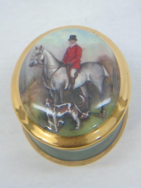 Group of 4 Vintage Porcelain Miniature Boxes - 5
