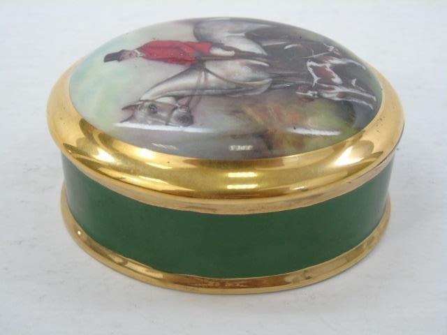 Group of 4 Vintage Porcelain Miniature Boxes - 6