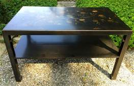 Custom Hand Painted Chinese Style Coffee Table