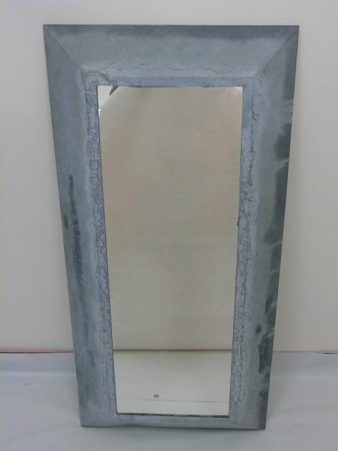 Galvanized Metal Contemporary Modern Mirror