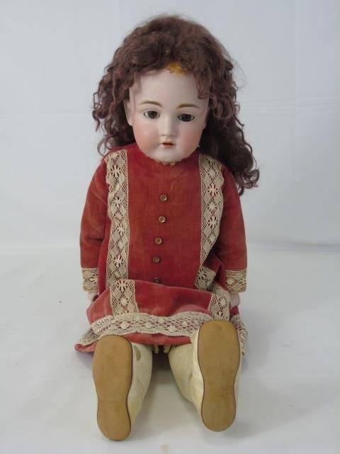 Antique 19th C German Bisque Kestner Doll 154