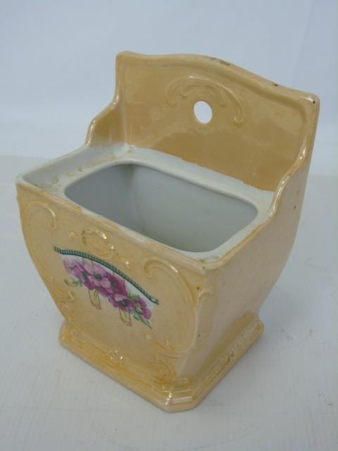 Antique German Porcelain Kitchen Canister Set - 3