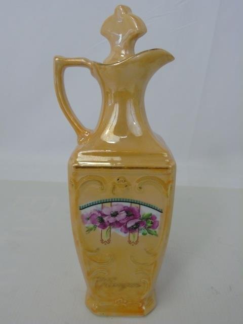Antique German Porcelain Kitchen Canister Set - 4