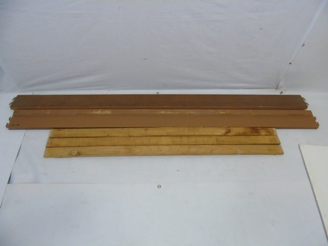 Vintage Maple Tone American Full Size Bed Frame - 4