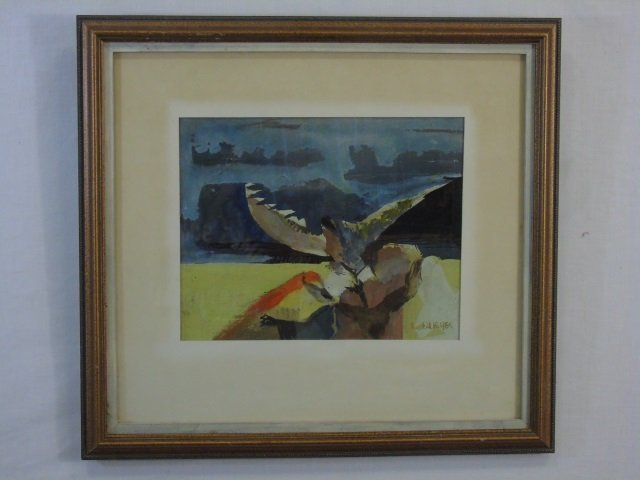 Russell Keeter - Contemporary Painting of a Bird