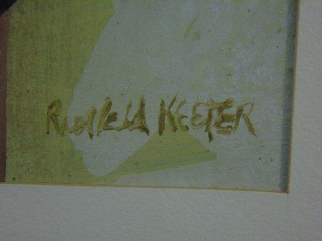 Russell Keeter - Contemporary Painting of a Bird - 2