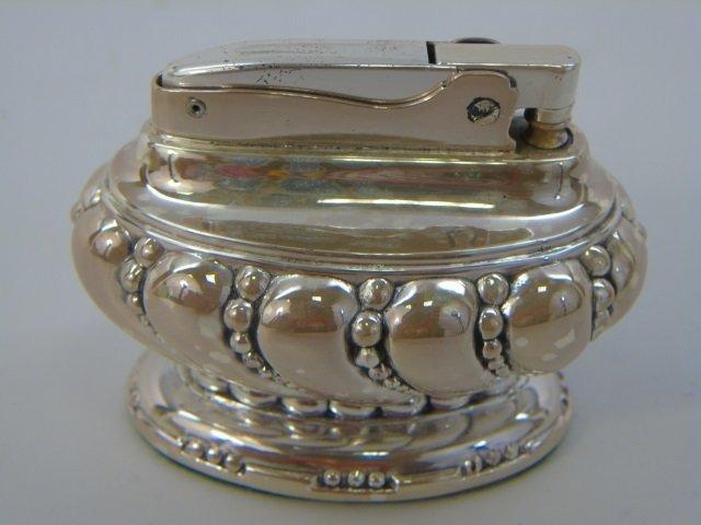Vintage Ronson Silver Plate Lighter in Orig Box