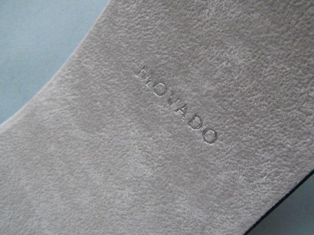 Movado Ladies Stainless Steel Watch w 14k Diamond Bezel - 3