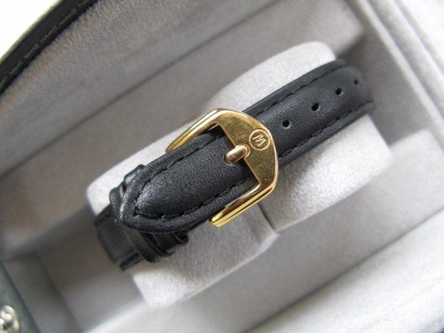 Movado Ladies Stainless Steel Watch w 14k Diamond Bezel - 5