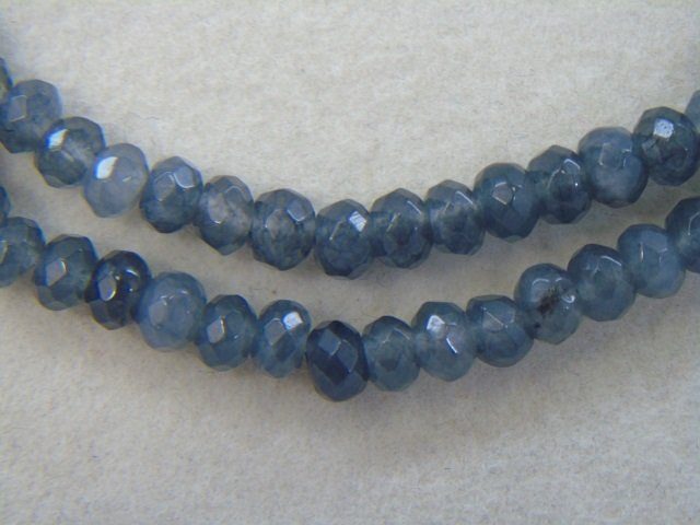 Pair of Faceted Beaded Spinel Necklace Strands - 3