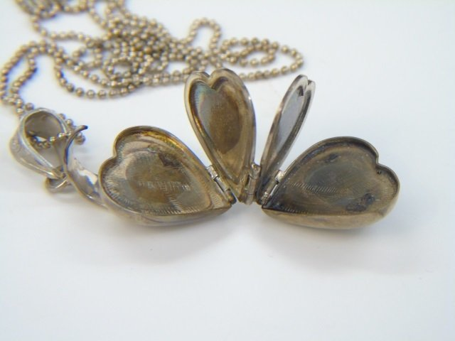 Three Estate Filigree & Sterling Silver Necklaces - 2