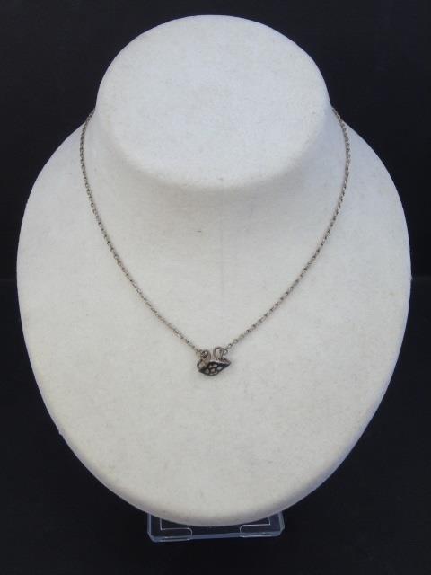 Three Estate Filigree & Sterling Silver Necklaces - 4
