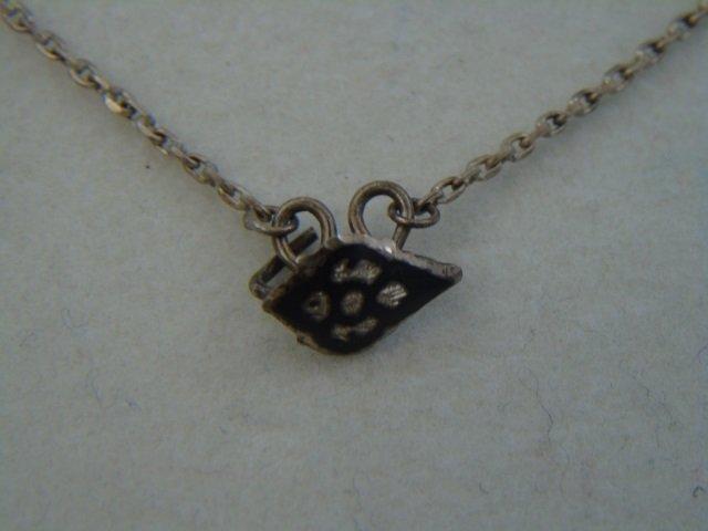 Three Estate Filigree & Sterling Silver Necklaces - 5