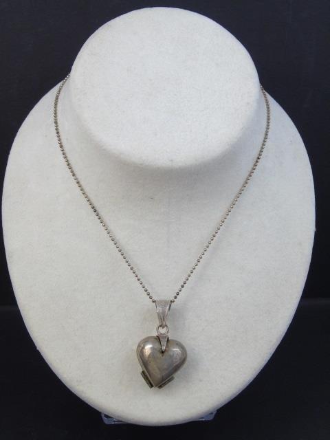 Three Estate Filigree & Sterling Silver Necklaces - 8