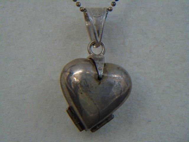 Three Estate Filigree & Sterling Silver Necklaces - 9