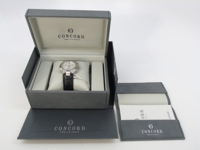 Men's Stainless Concord LaScala Watch New in Box - 3