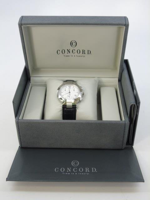 Men's Stainless Concord LaScala Watch New in Box - 4