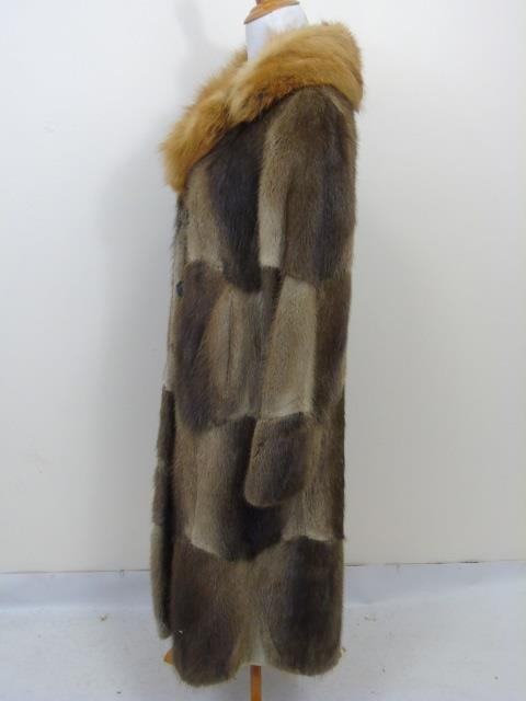 Vintage Patchwork Mink Pucci Silk Lined Fur Coat - 2