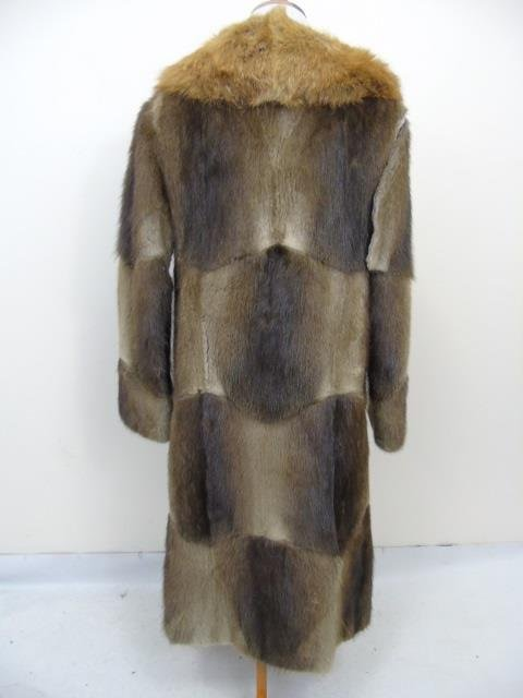 Vintage Patchwork Mink Pucci Silk Lined Fur Coat - 3