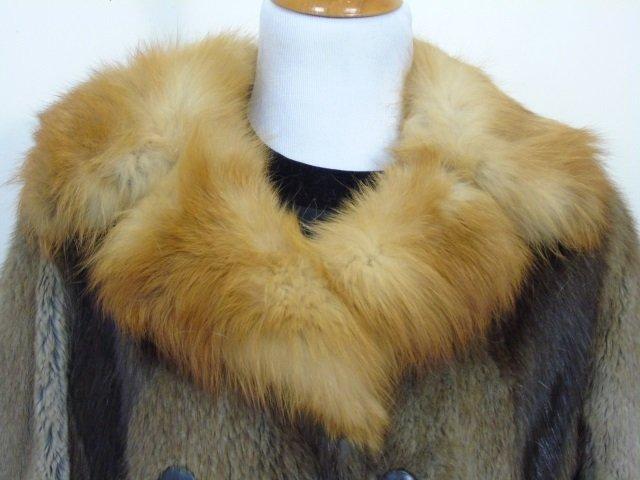 Vintage Patchwork Mink Pucci Silk Lined Fur Coat - 5