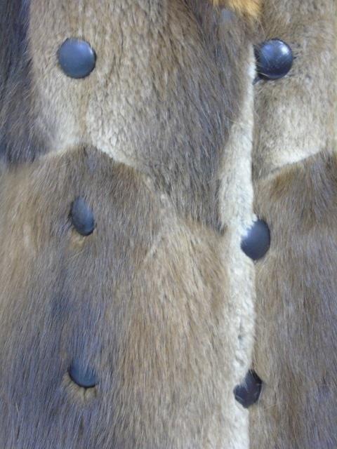 Vintage Patchwork Mink Pucci Silk Lined Fur Coat - 6