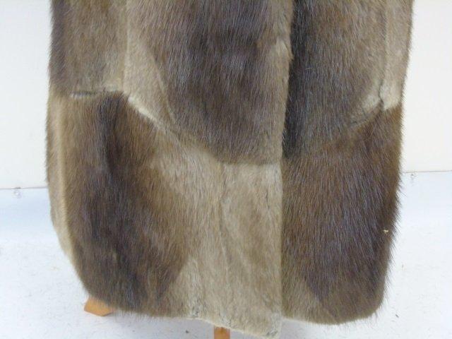 Vintage Patchwork Mink Pucci Silk Lined Fur Coat - 7