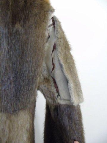 Vintage Patchwork Mink Pucci Silk Lined Fur Coat - 8