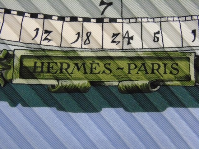Hermes Silk Pleated Accordion Scarf in Box - 9