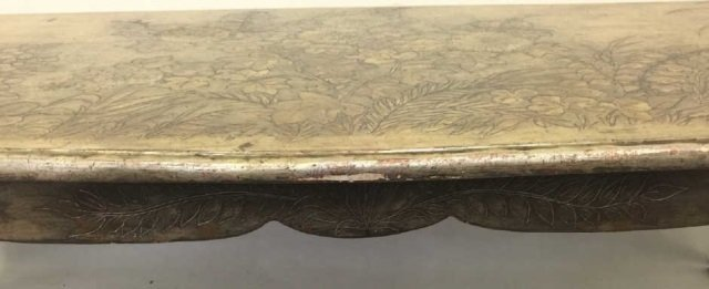 Max Kuehne Signed Polychrome Painted Coffee Table - 2