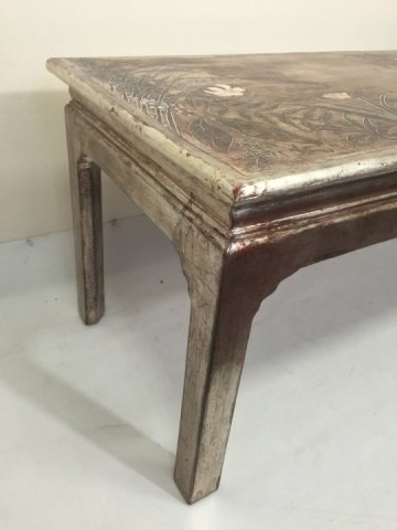 Max Kuehne Signed Polychrome Painted Coffee Table - 10